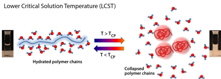 LCST_Lower critical solution temperature